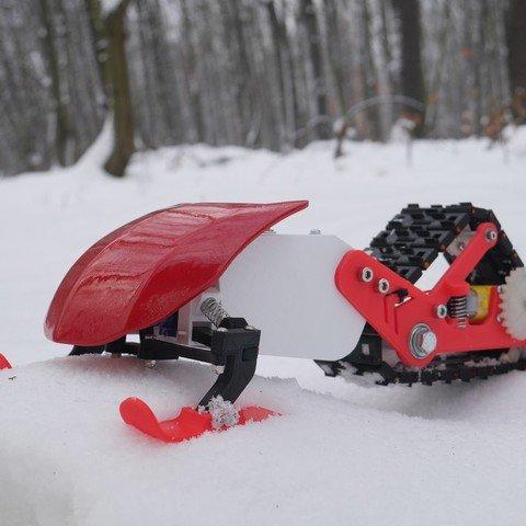3D Printed Snowmobile
