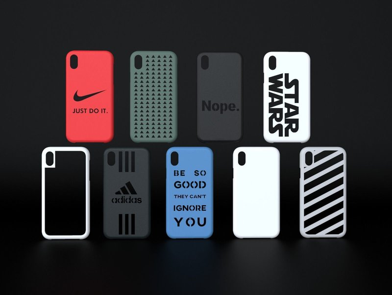 iPhone Many Designs 3D Printable Cases