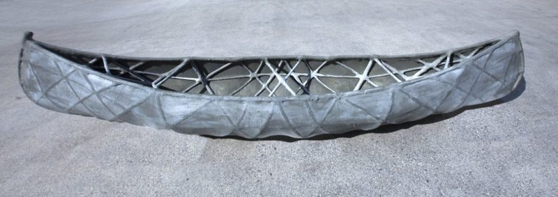 SkelETHon Concrete Kayak
