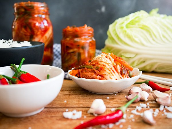 Foods that keep your gut healthy like kimchi also helps in fighting off stress