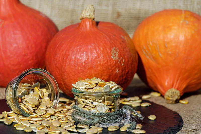Pumpkin seeds are a great source of magnesium which has been linked with preventing or inhibiting a number of heart conditions.