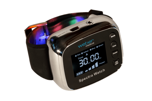 This medical laser watch is a healthy Christmas gift idea is for loved ones looking into alternative ways to deal with health conditions.
