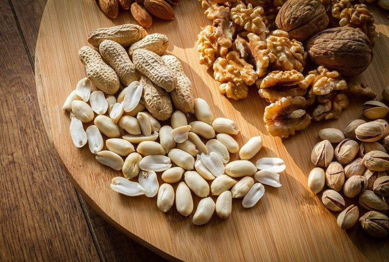 Nuts are some examples of allergens that can cause anywhere from light to severe allergic reactions