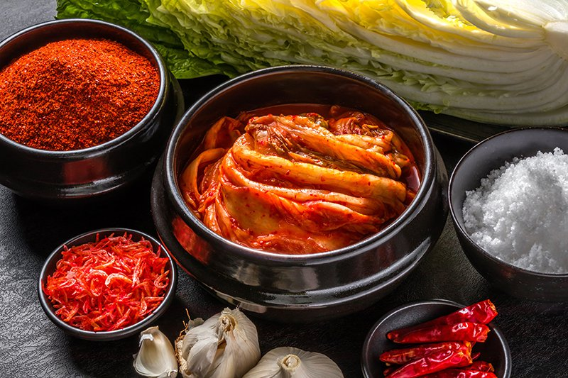 kimchi to fight depression