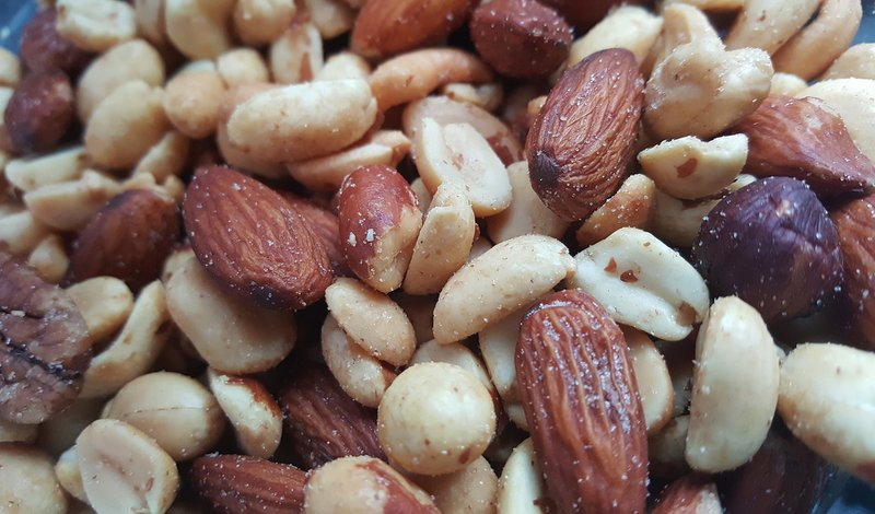 Almonds, cashews, and peanuts are rich in magnesium and can help address stress-related deficiencies