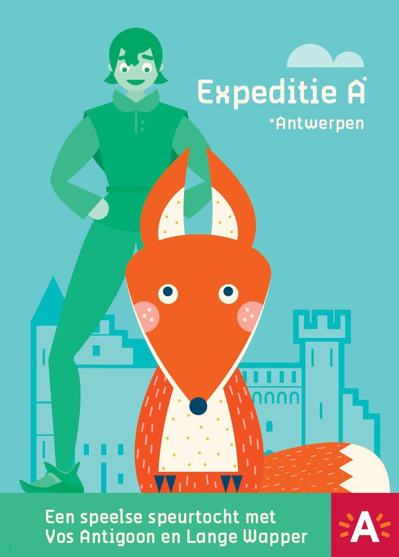Expeditie A, een speelse speurtocht door Antwerpen