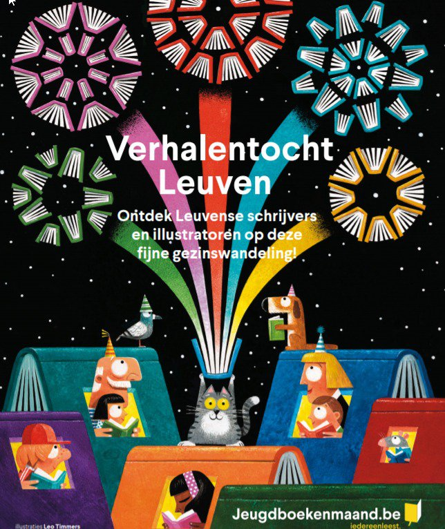 Op verhalentocht in Leuven