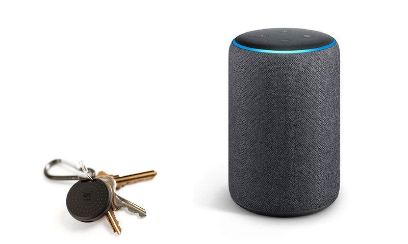 bluetooth tracker with Alexa