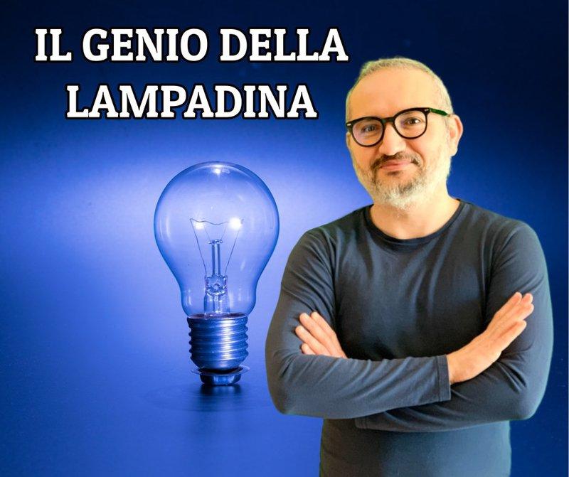 genio della lampadina creare copiare
