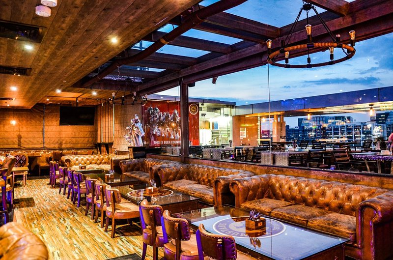 MUSTANG TERRACE LOUNGE   The Ultimate Guide to Best Rooftop Restaurants & Bars in Hyderabad