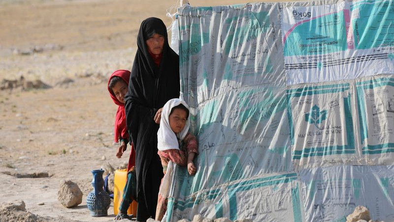 women & children in afghanistan