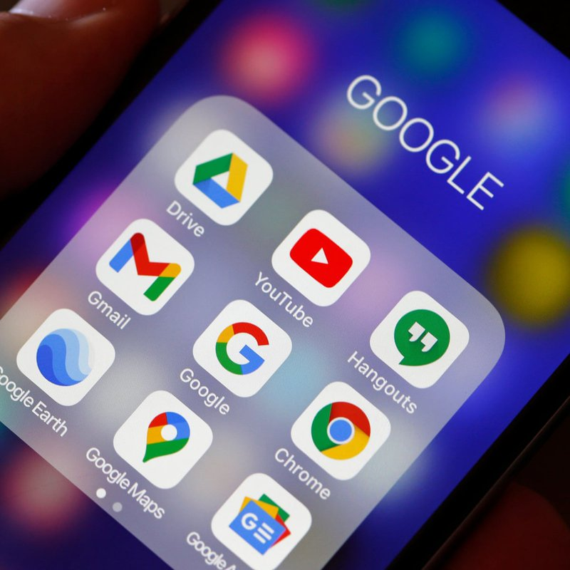 Pre-installed Google apps in Android