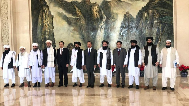 China & taliban - Al-Qaeda