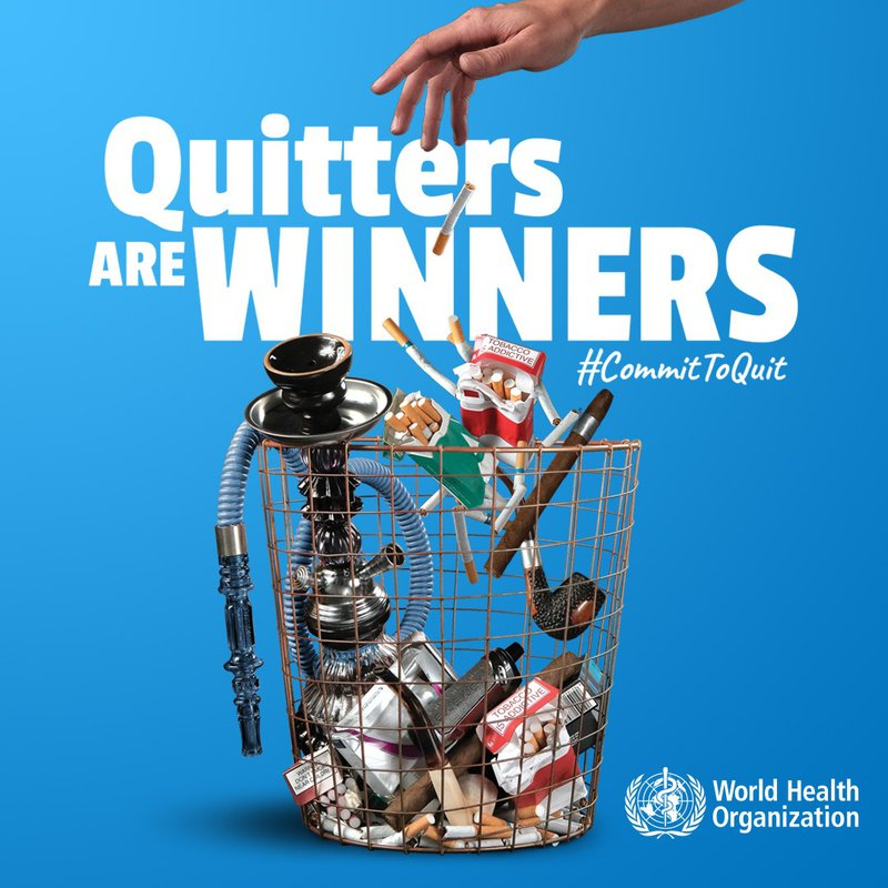 This World No Tobacco Day #CommitToQuit