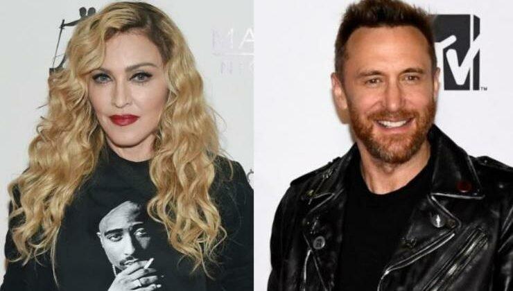 Madonna 與 David Guetta