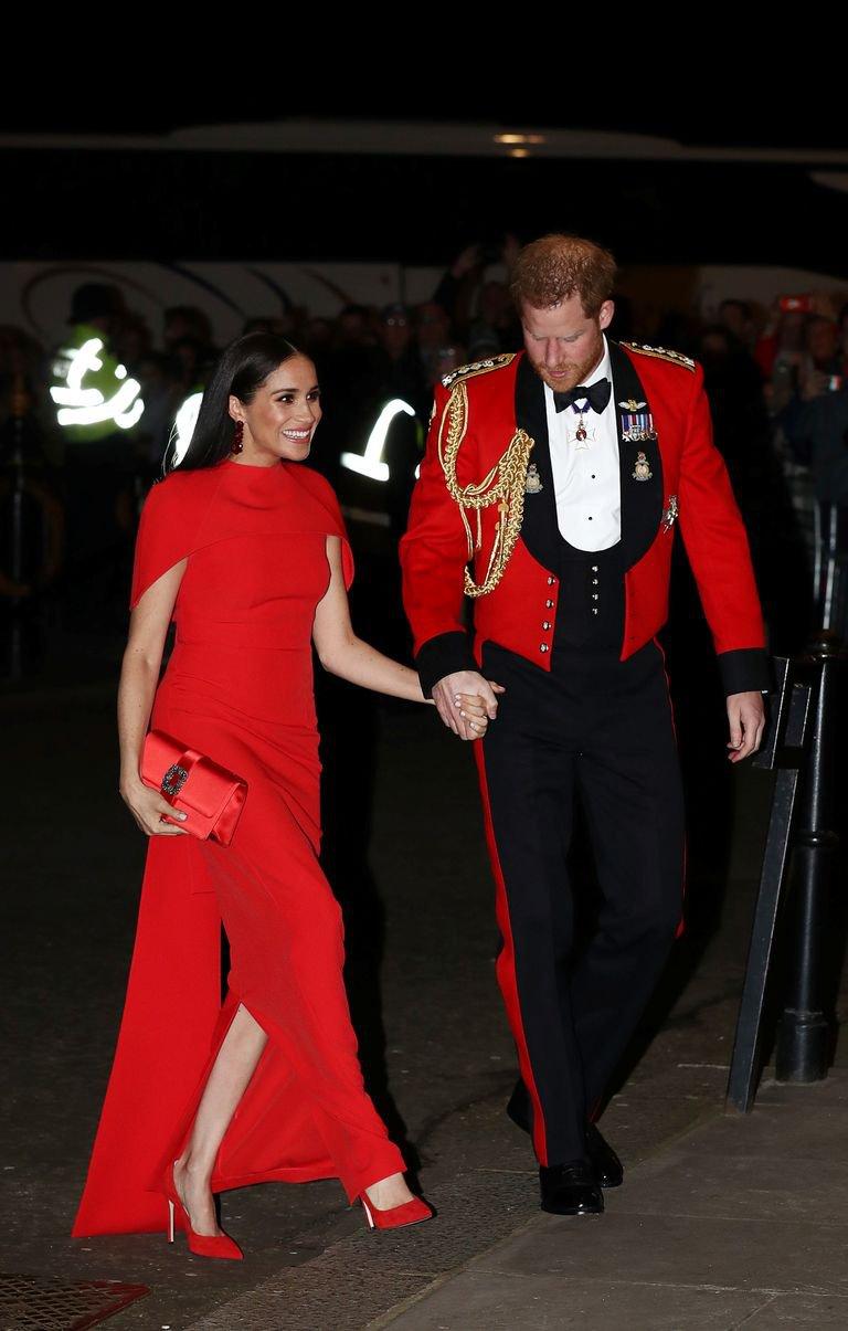 哈利王子與梅根出席蒙巴頓音樂節