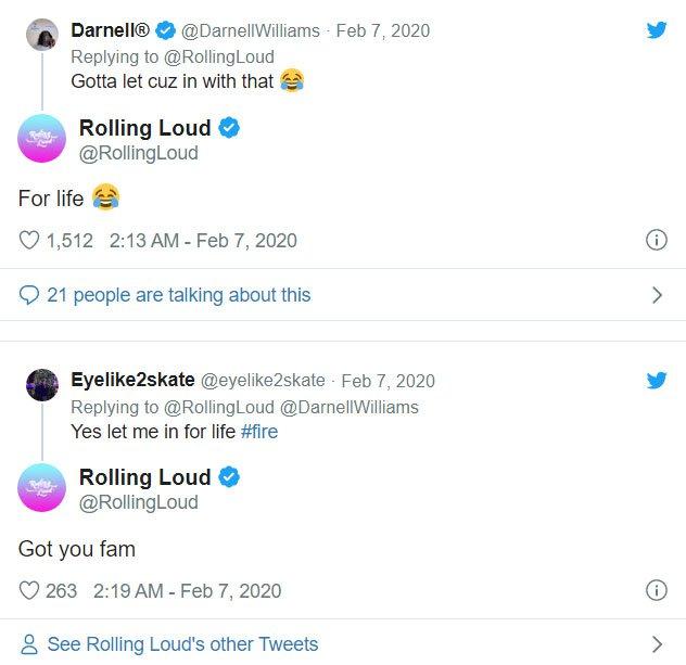 Rolling Loud Twitter