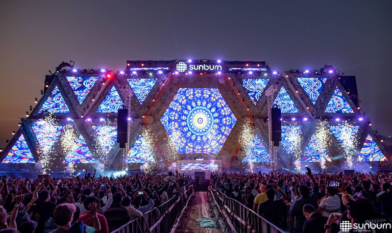 Sunburn Goa Music Festival