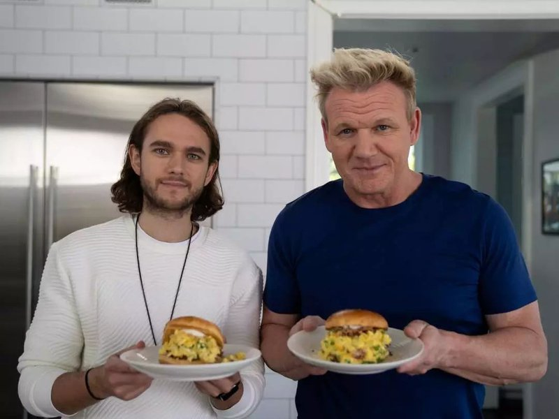 Gordon Ramsey and Zedd