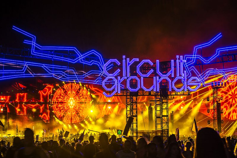 CircuitGROUNDS- Where Martin Garrix played at EDC Las Vegas