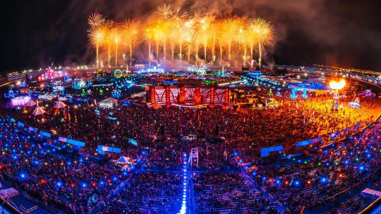 EDC Last Vegas fireworks