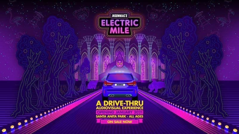 Electric Mile 在洛杉磯舉辦