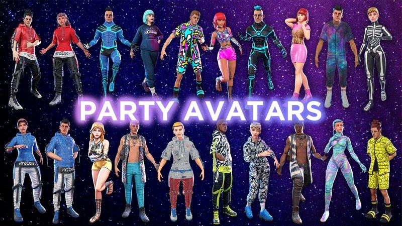 派對虛擬人像