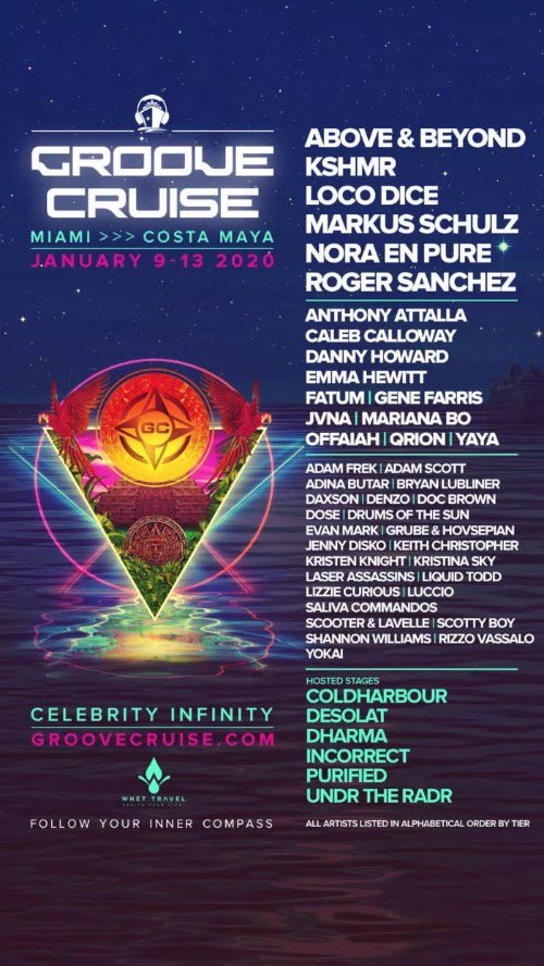 Groove Cruise Miami Lineup
