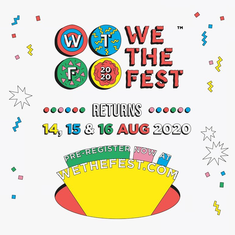 We The Fest 2020 dates