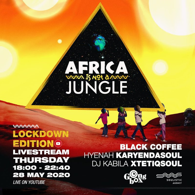 Africa is Not a Jungle lineup