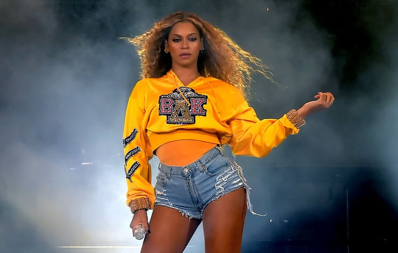 Beyonce takes to the stage for Coachella homecoming in Balmain college-inspired outfit.
