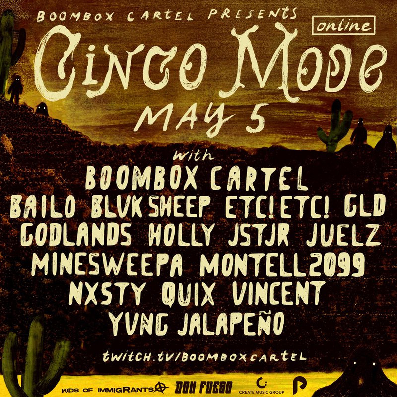 Cinco Mode lineup