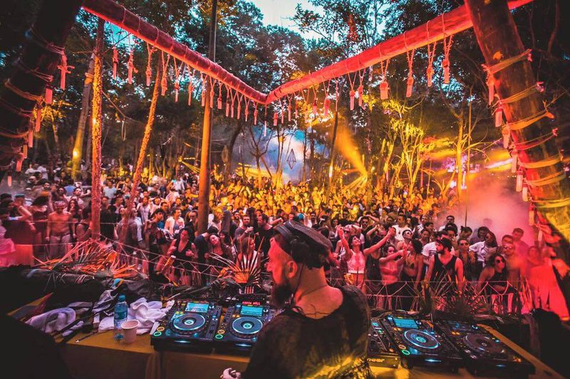 Jungle stage at Day Zero, Mexico
