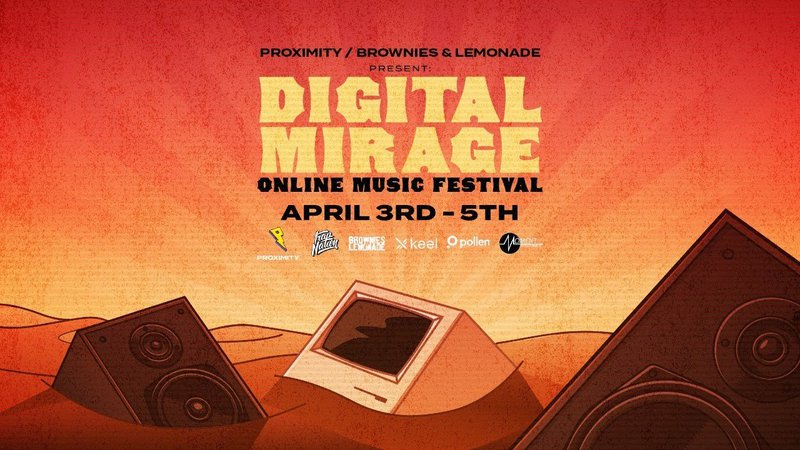 Digital Mirage Online Music Festival banner