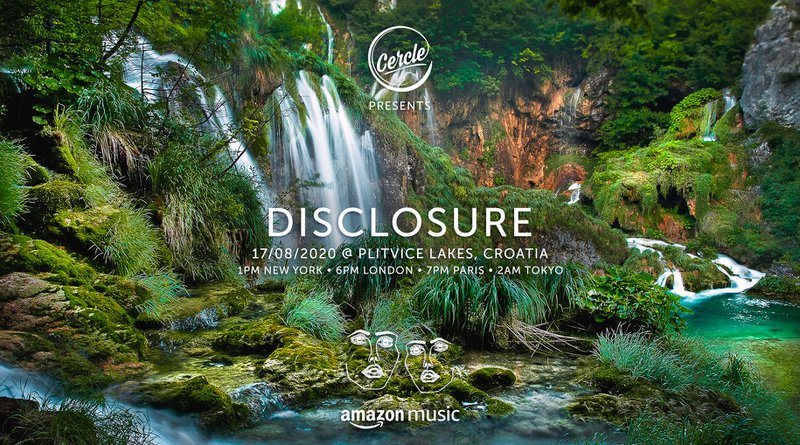 Disclosure Cercle livestream at Plitvice Lakes National Park