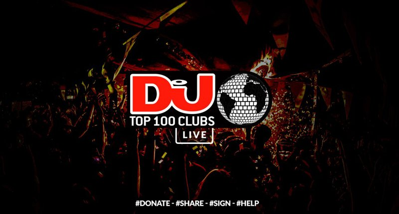 DJ Mag Top 100 Clubs banner