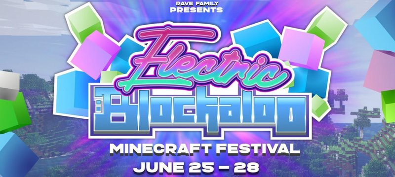 44 Stages? Minecraft is Throwing a Virtual Music Festival Like No Other