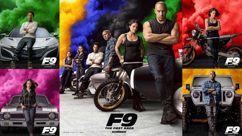 fast&furious F9 poster