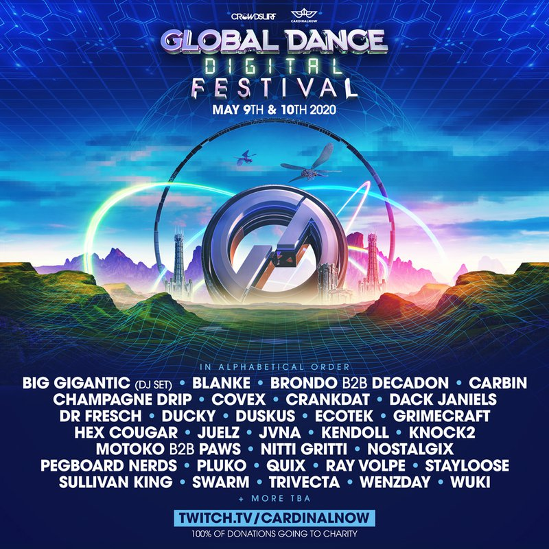 Global Dance Digital Festival lineup