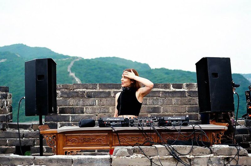 Nina Kravitz at Great Wall Festival, China