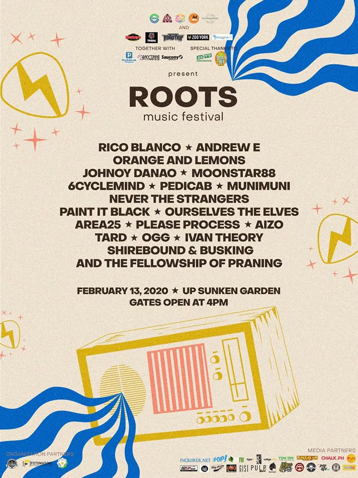 ROOTS music festival lineup 2020
