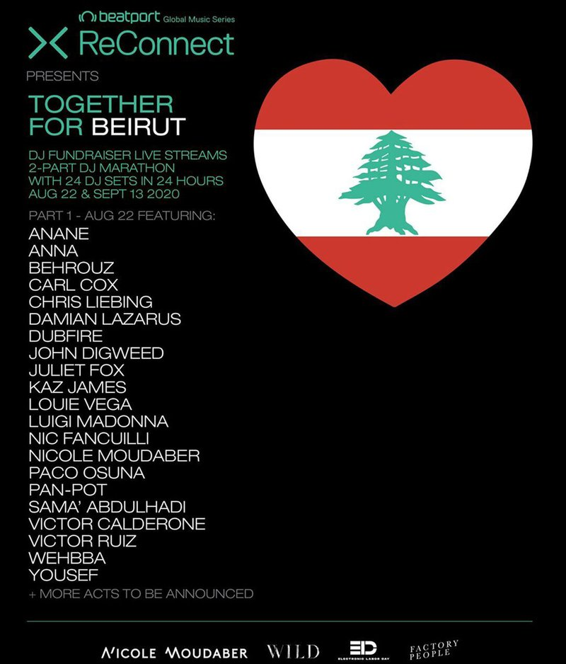 ReConnect Livestream: Together for Beirut