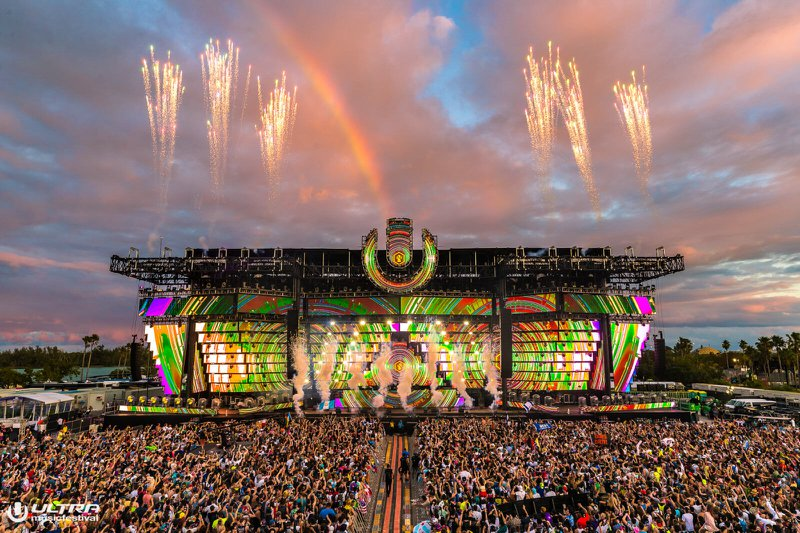 Ultra Music Festival Miami 2019 mainstage
