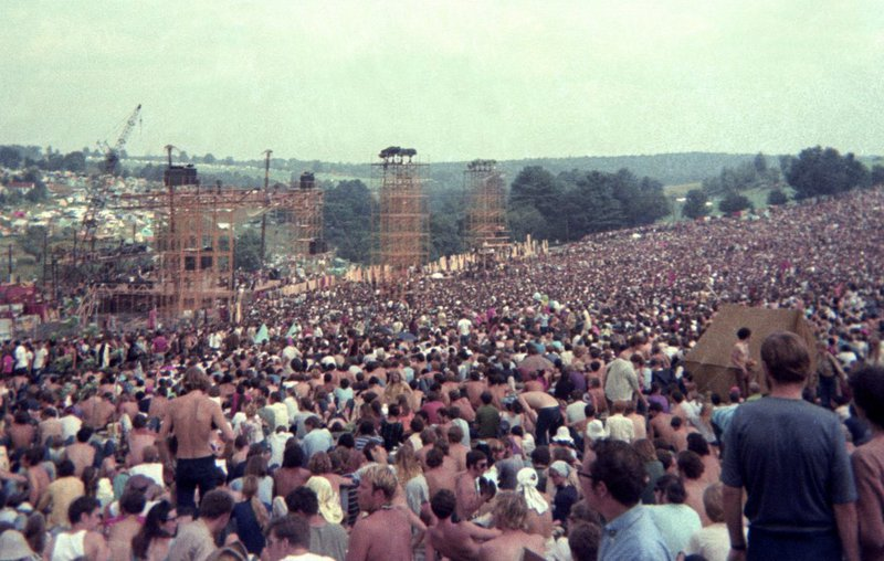 The original Woodstock festival in 1969