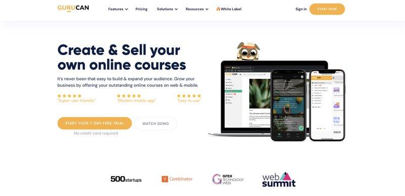 Online course platform