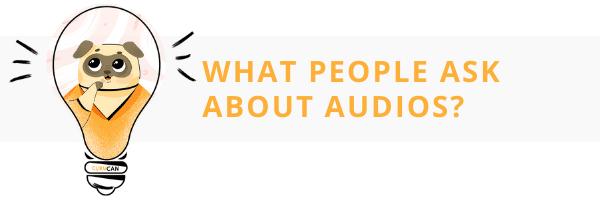 sell audio