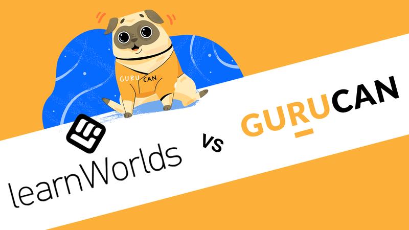 LearnWorlds vs Gurucan