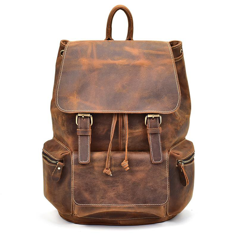 Handmade Leather Backpacks For Men