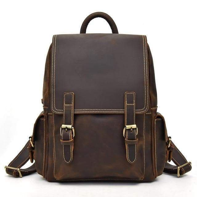 The Freja Backpack | Handmade Leather Backpacks For Men