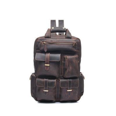 The Shelby | Handmade Leather Backpacks For Men